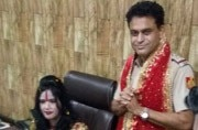Radhe Maa lands in Delhi police station. But, in SHO's seat amid cheer. Watch here