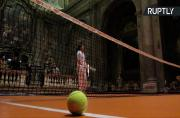 Now You Can Play Tennis Inside a 16th Century Church