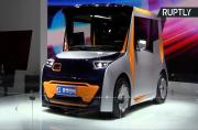 RedSpace Electric Prototype Car Designed for Driving in Chinese Megacities