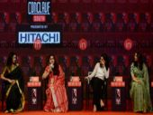 (L-R) Gauthami, Khushbu Sundar, Taapsee Pannu and Kajal Aggarwal at India Today Conclave South 2018