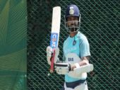 Ajinkya Rahane during practice session (BCCI Photo)