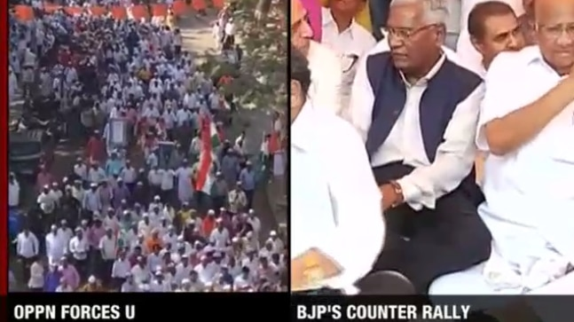 Anti-BJP forces consolidate at 'Save Constitution' rally