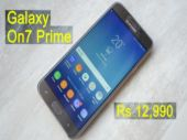 Galaxy On7 Prime quick review: Specs, features, camera and price