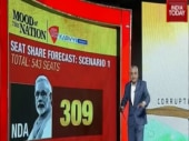Mood of the Nation Poll Part 2: Seat share forecast, Modi-Rahul popularity gap