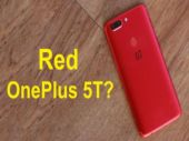OnePlus 5T Lava Red unboxing
