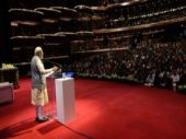 PM Narendra Modi addressing Indian diaspora