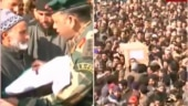 Kashmiris pour out on streets to pay tribute to soldier martyred in Sunjwan Army camp attack