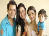Shweta Tiwari's family looks picture perfect in the latest photo shoot