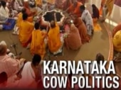 Karnataka netas ignore real issues amidst 'cow politcs'