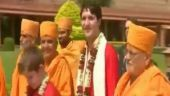 Image of the day: Canadian PM Justin Trudeau pays his tributes to Mahatma Gandhi in Gujarat