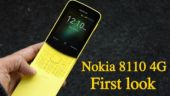 Nokia 8110 4G and Nokia 1: Budget Nokia phones at MWC 2018