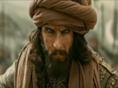 Ranveer Singh in a still from Padmaavat
