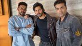 Shashank Khaitan, Varun Dhawan, Karan Johar