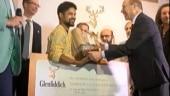 Siliguri's Biplap Sarkar wins 7th Glenfiddich's Emerging Artist of the Year 2018 award
