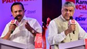 Congress's Rajeev Gowda vs BJP's Sadanand Gowda in discussion on violence in Karnataka