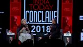 Hillary Clinton in conversation with Aroon Purie