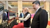 Narendra Modi and Xi Jinping view antique Chinese artefacts at the Hubei Provincial Museum.