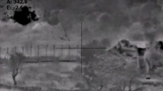 BSF releases video showing Pakistani bunker being blown up