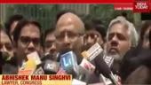 Historic interim judgement by Supreme Court: Abhishek Manu Singhvi