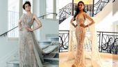 Kangana and Deepika wore creations by Zuhair Murad. Photo: Instagram.
