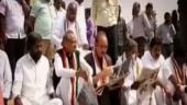 Opposition plans pan-India protest over Yeddyurappa's swearing-in
