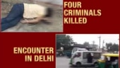 Shootout in Delhi: 4 members of Rajesh Bharti gang killed in encounter
