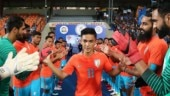 Sunil Chhetri (Photo: @IndianFootball Twitter)