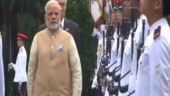 Mega farmers protest; High alert in J-K; PM Modi in Singapore