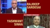 Yashwant Sinha on J&K fallout