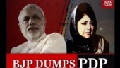 jammu and kashmir, pdp-bjp