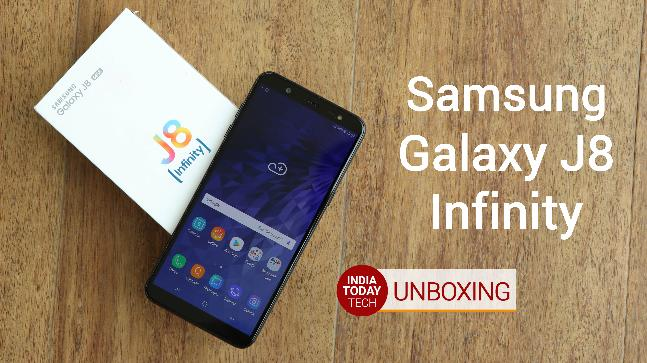Samsung Galaxy J8 Unboxing And Quick Review Indiatoday