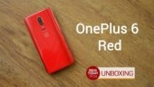 OnePlus 6 Red unboxing