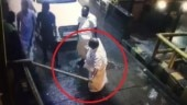 Caught on CCTV: Kerala MLA and his aides break stop barrier after being asked to pay toll