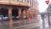 Parliament witnesses a real Monsoon Session after heavy rains lash Delhi