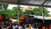 Tent collapse at PM Modi rally