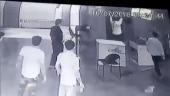 WATCH: Security guard brutally assaults colleague