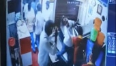 DMK student wing leader attack hotel staff