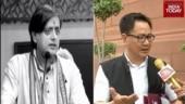 Shashi Tharoor, Kiren Rijiju