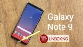 Galaxy Note 9 Unboxing and first look