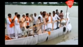 Atal Bihari Vajpayee's ashes immersed in the Ganges