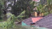 Houses in Kerala inundated as flood situation remains grim