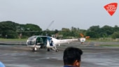 Chopper airlifts patients