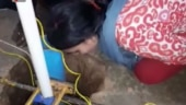 Mother calls out to her 3-year-old who fell into Munger borewell