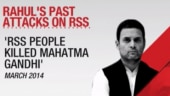 BJP demands apology after Rahul compares RSS to Muslim Brotherhood
