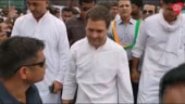 Rahul Gandhi gets enthusiastic welcome by Congress supporters in Jaipur