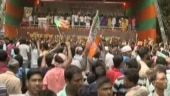 BJP supporters throng Amit Shah's rally in Kolkata