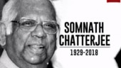 Image of the day: Remembering Somnath Chatterjee