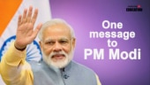 One message to PM Narendra Modi