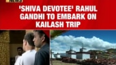 Rahul Gandhi to go on Kailash Mansarovar yatra