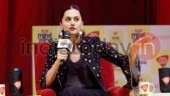 Taapsee Pannu at India Today Mind Rocks 2018 Delhi
